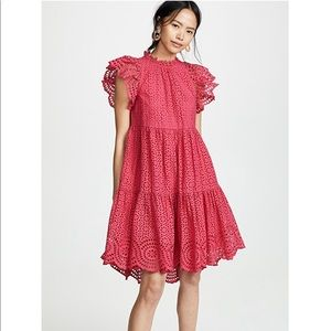 Ulla Johnson Hot Pink dress